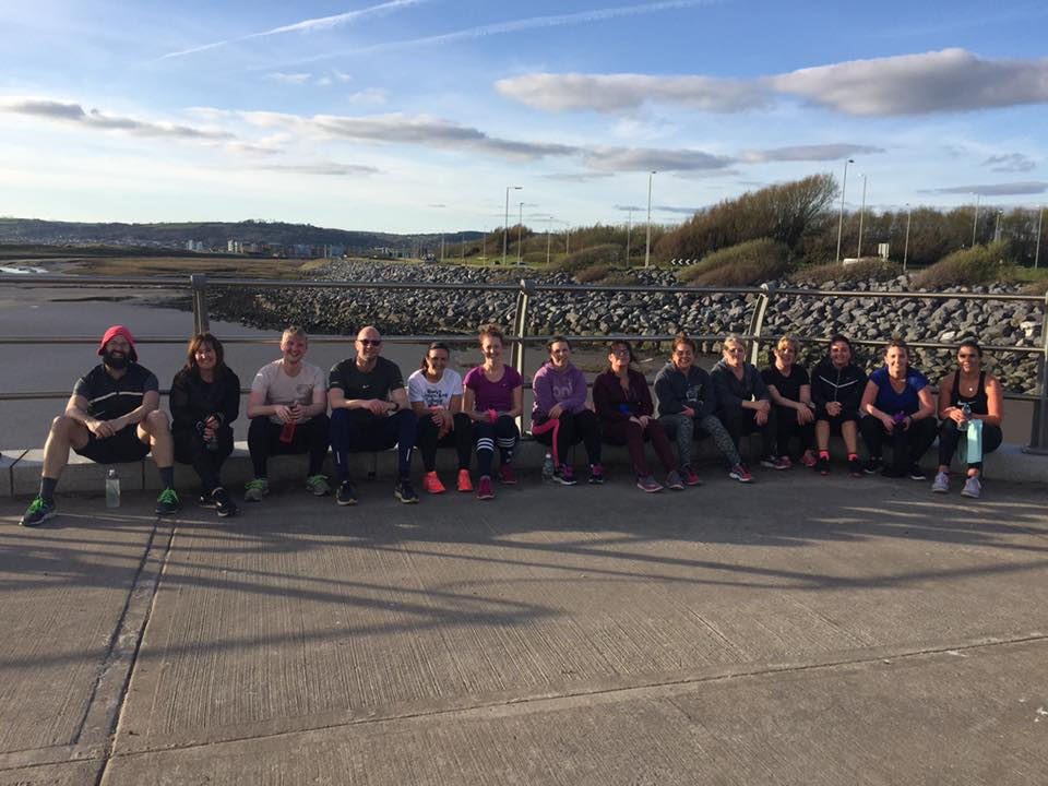 Llanelli Beach Bootcamp Sprints