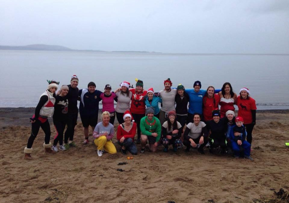 First Boxing Day Walrus Workout At Machynys