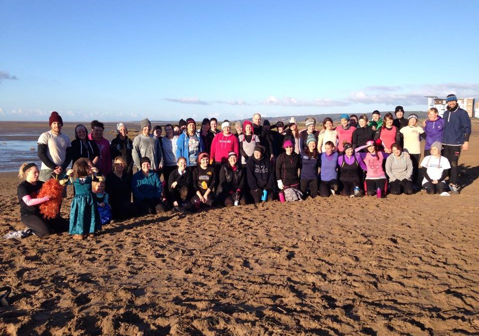 Bootcamp Fitness Fun In The Winter Sun
