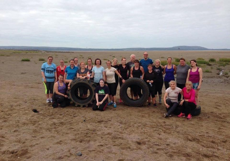 Celebrating Three Years Of Llanelli Beach Bootcamp