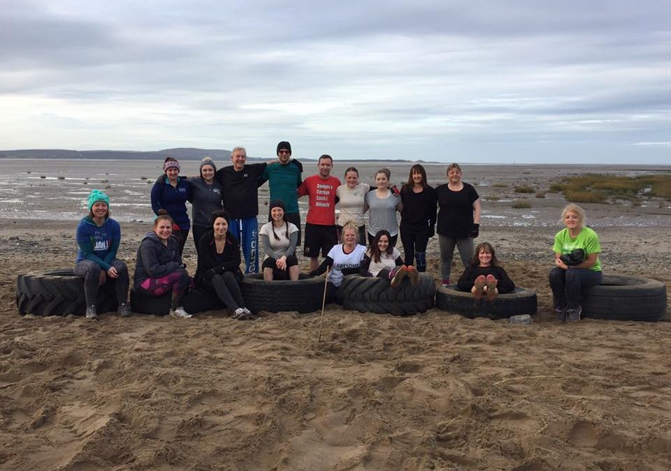 Join Llanelli Beach Bootcamp In December