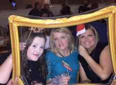 Framed At The Christmas Party