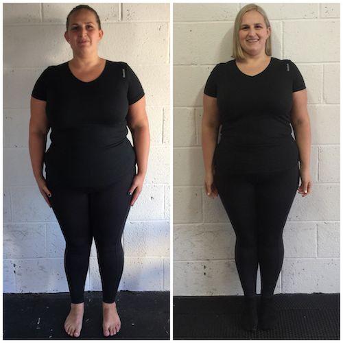 Claire 11kg Loss