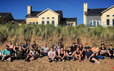 A Busy Beach Bootcamp Summer