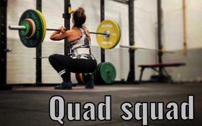 New Quad Squad Class Gets Underway